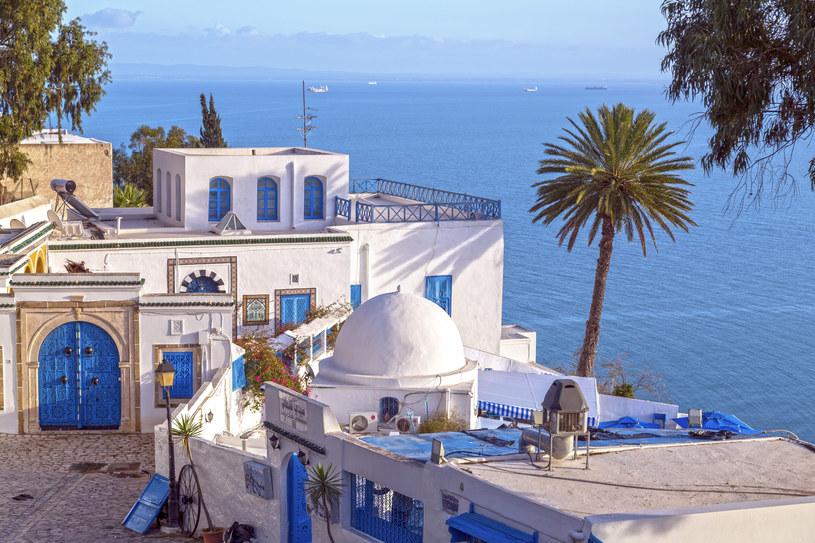 Sidi Bou Said miasto w północnej Tunezji /123RF/PICSEL