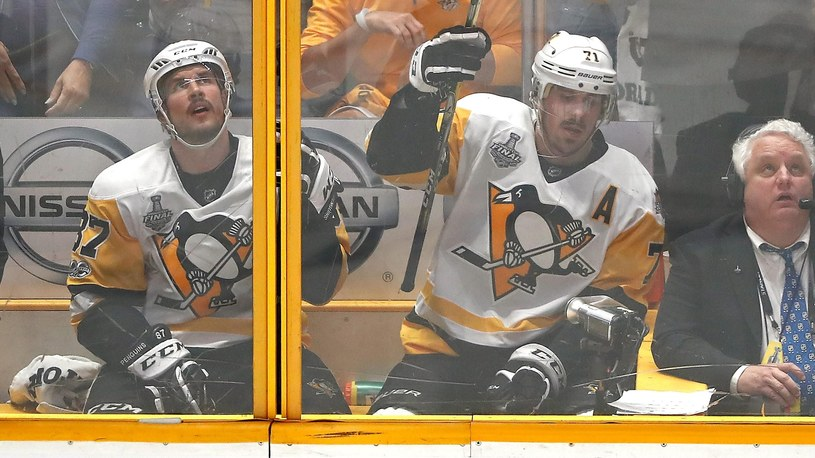 Sidney Crosby i Jewgienij Małkin /Getty Images