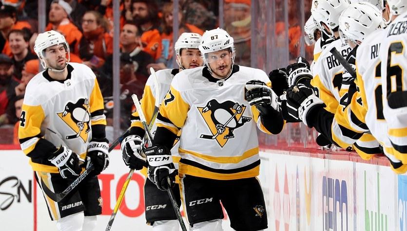 Sidney Crosby lepszy do Mario Lemieux, Sharks w drugiej rudznie
