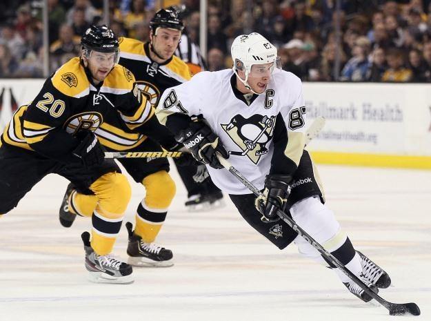 Sidney Crosby, lider Pittsburgh Penguins /AFP