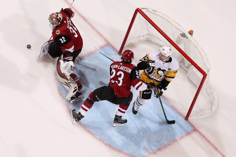 Sidney Crosby (numer 87) ustalił wynik spotkania /AFP