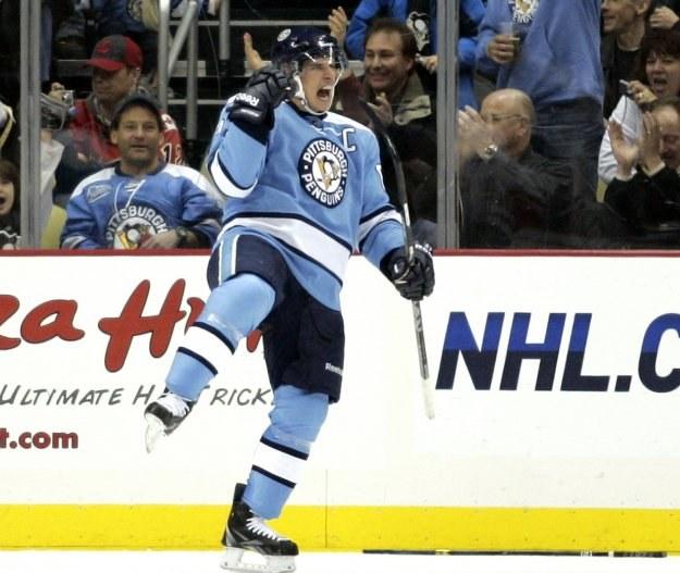 Sidney Crosby z Pittsburgh Penguins /AFP