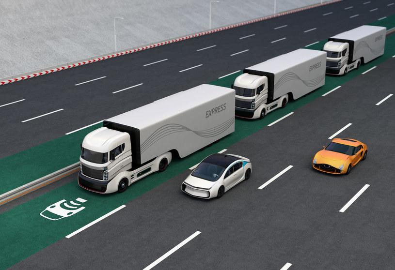 Sieć 5G będzie miała duży wpływ na transport /123RF/PICSEL