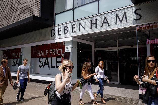 Sieć domów handlowych Debenhams zamknie nawet 50 sklepów /fot. Tolga Akmen /AFP