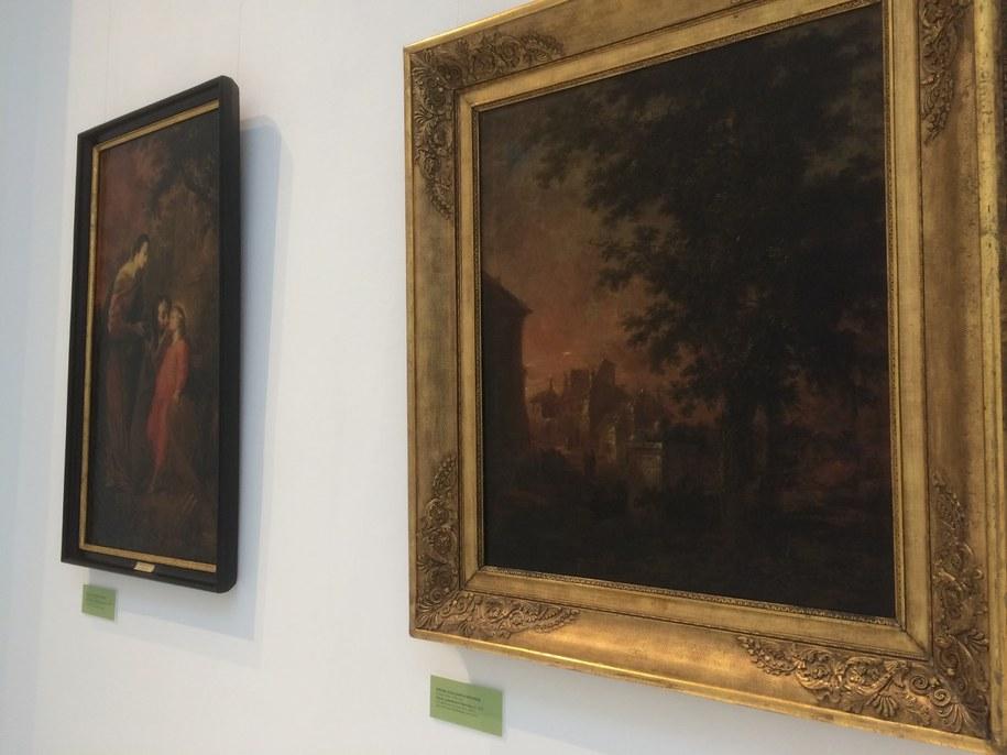 Siedem obrazów Michaela Willmanna powróciło do muzeum we Wrocławiu /Bartłomiej Paulus /RMF FM