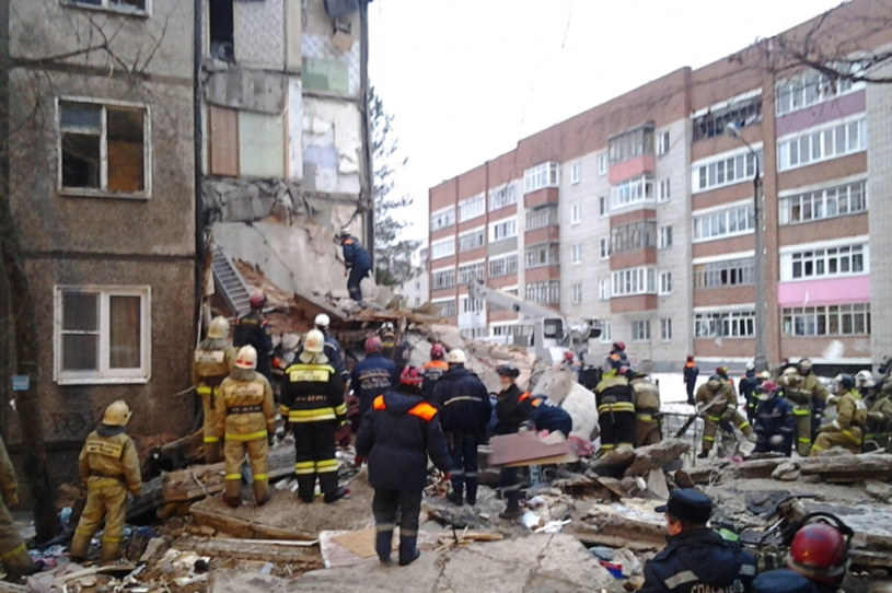 Siedem osób zginęło w następstwie wybuchu gazu w Jarosławiu. /TASS