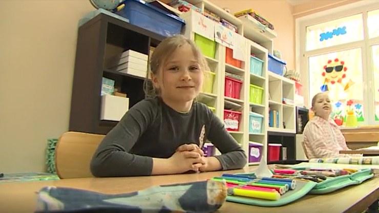 Siedmioletnia Amelka uratowała swoją babcię /Polsat News