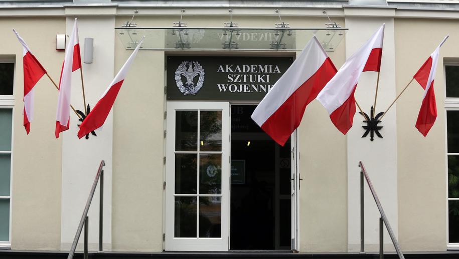 Siedziba Akademii Sztuki Wojennej / Tomasz Gzell    /PAP