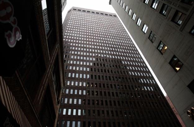 Siedziba banku Goldman Sachs, któremu SEC zarzuca działanie na szkodę inwestorów /AFP