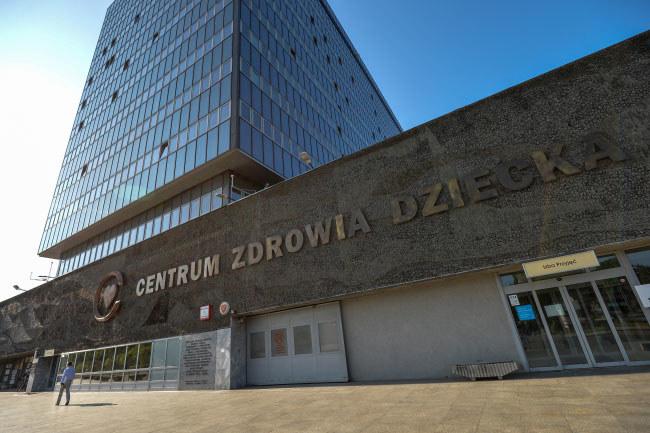 Siedziba Centrum Zdrowia Dziecka w Warszawie /Marcin Obara /PAP