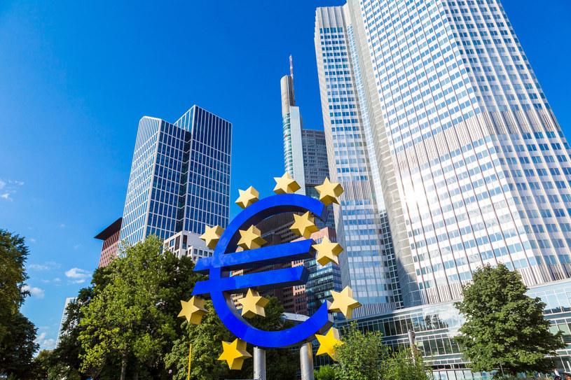 Siedziba Europejskiego Banku Centralnego we Frankfurcie. /123RF/PICSEL