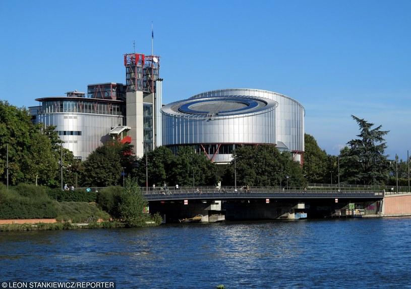 Siedziba Europejskiego Trybunału Praw Człowieka, zdj,. ilustracyjne /Leon Stankiewicz /Reporter