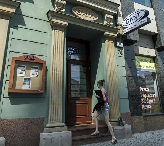 Siedziba Gant Development przy ulicy Szewskiej we Wrocławiu /PAP