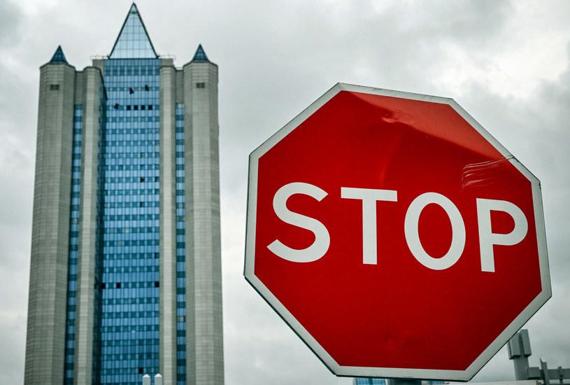 Siedziba Gazpromu. Moskwa /ALEXANDER NEMENOV/AFP /East News