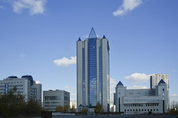Siedziba Gazpromu /©123RF/PICSEL