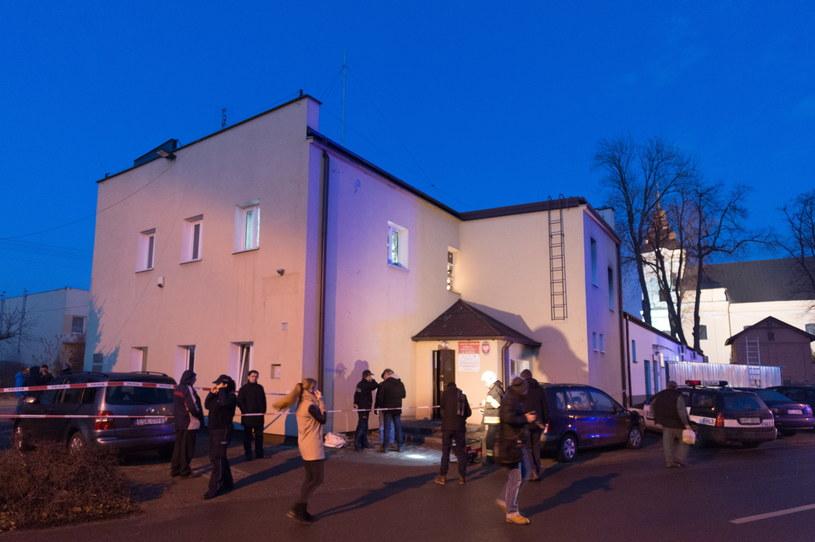 Siedziba Gminnego Ośrodka Pomocy Społecznej w Makowie /Grzegorz Michałowski /PAP