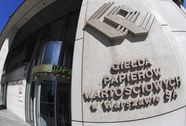 Siedziba GPW w Warszawie. Fot. Wlodzimierz Wasyluk /Reporter