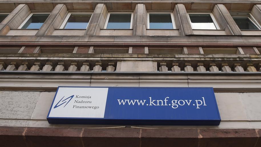 Siedziba KNF /Radek Pietruszka /PAP