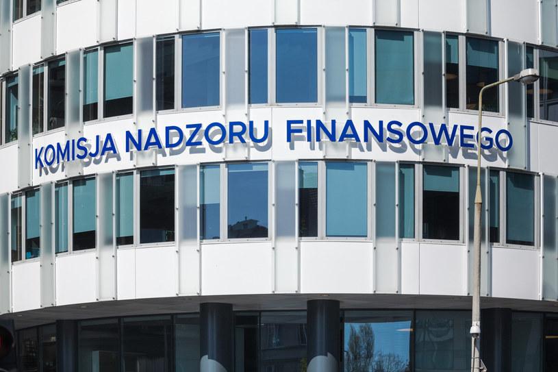 Siedziba Komisji Nadzoru Finansowego, Fot. Arkadiusz Ziołek /East News