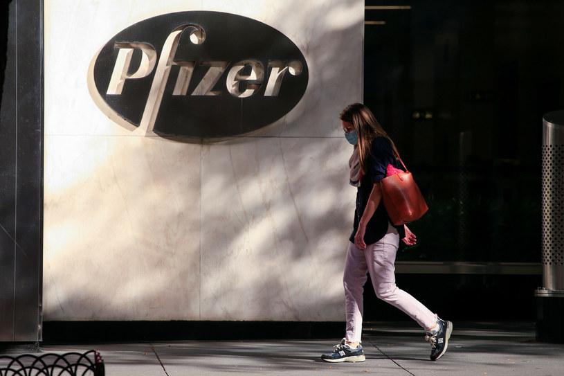 Siedziba koncernu Pfizer w Nowym Jorku /Kena Betancur/ AFP /East News