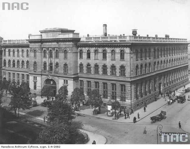 Siedziba Ministerstwa Poczt i Telegrafów /Z archiwum Narodowego Archiwum Cyfrowego