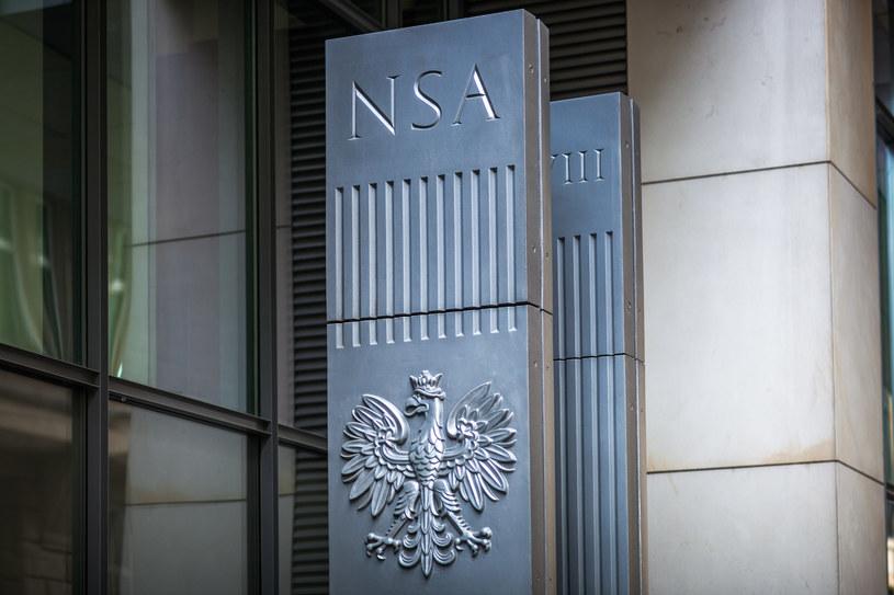 Siedziba NSA w warszawie. /Andrzej Bogacz /Agencja FORUM