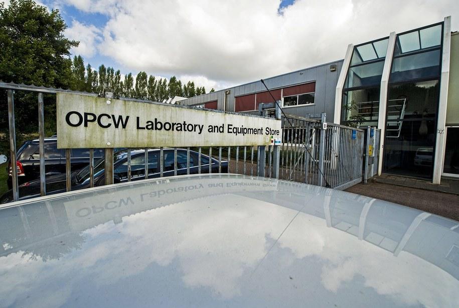 Siedziba OPCW w Rijswijk w Holandii. / FRANK DE ROO    /PAP/EPA