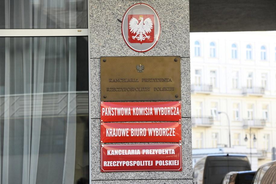 Siedziba Państwowej Komisji Wyborczej w Warszawie / Radek Pietruszka   /PAP