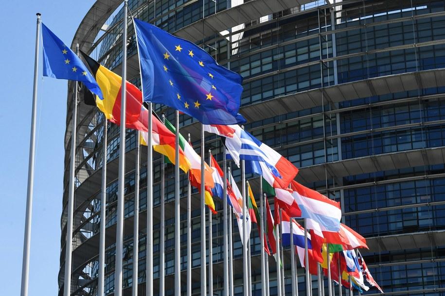 Siedziba Parlamentu Europejskiego w Strasburgu / Radek Pietruszka   /PAP