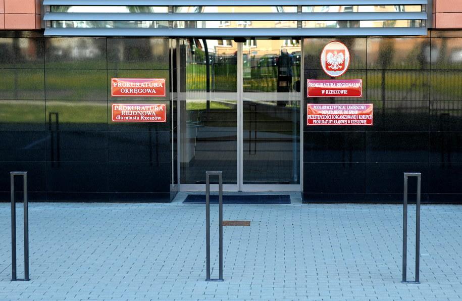 Siedziba Prokuratury Rejonowej w Rzeszowie, która wyjaśnia okoliczności śmierci 6-miesięcznego Maksymiliana /Darek Delmanowicz /PAP