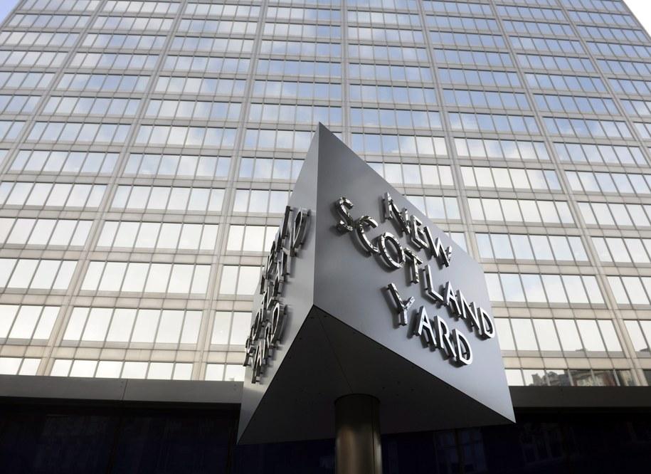 Siedziba Scotland Yardu /FACUNDO ARRIZABALAGA /PAP/EPA