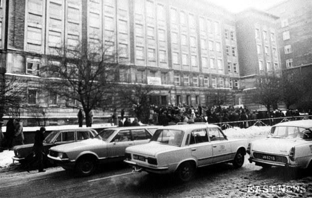 """Siedziba """"Solidarności"""", region Mazowsze. /Wojciech Laski /East News"""