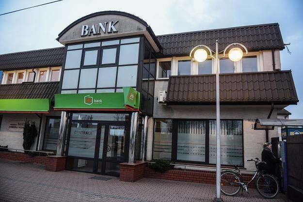 Siedziba Spółdzielczego Banku Rzemiosła i Rolnictwa w Wołominie /PAP
