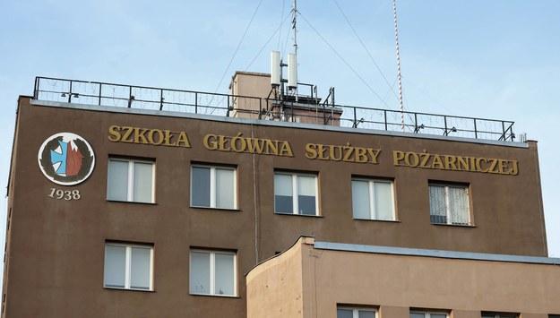 Siedziba Szkoły Głównej Służby Pożarniczej w Warszawie / Tomasz Gzell    /PAP