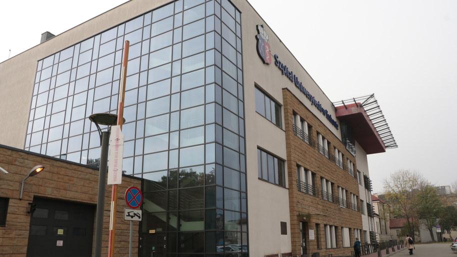 Siedziba szpitala tymczasowego w Krakowie /Józef Polewka /RMF FM