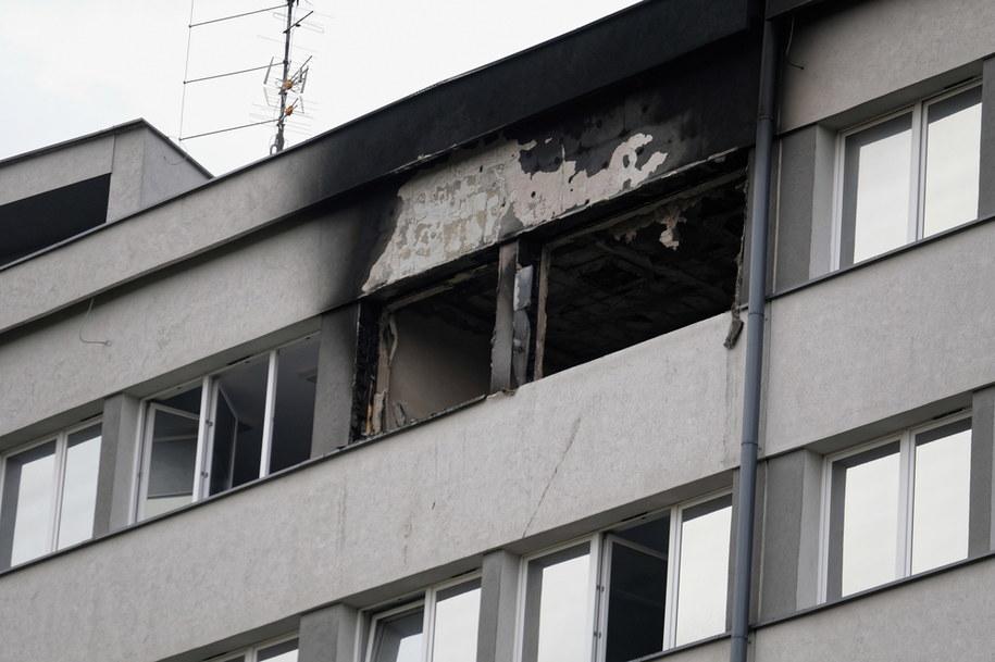 Siedziba szpitala Uniwersyteckiego Centrum Klinicznego w Katowicach, gdzie doszło do pożaru jednej z sal na siódmym piętrze placówki / Andrzej Grygiel    /PAP