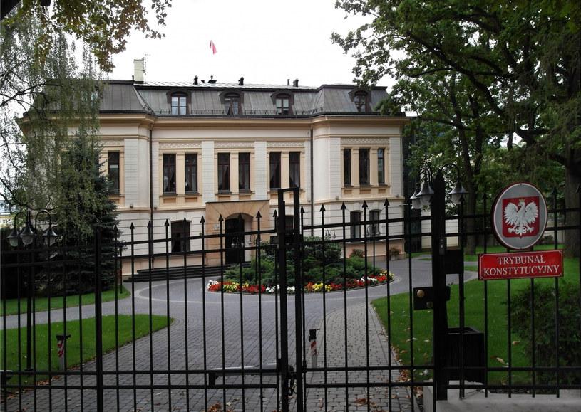 Siedziba Trybunału Konstytucyjnego przy Alei Szucha w Warszawie /Krzysztof Chojnacki /East News