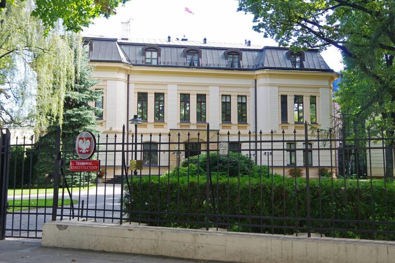 Siedziba Trybunału Konstytucyjnego; zdj. ilustracyjne / Zofia i Marek Bazak /East News
