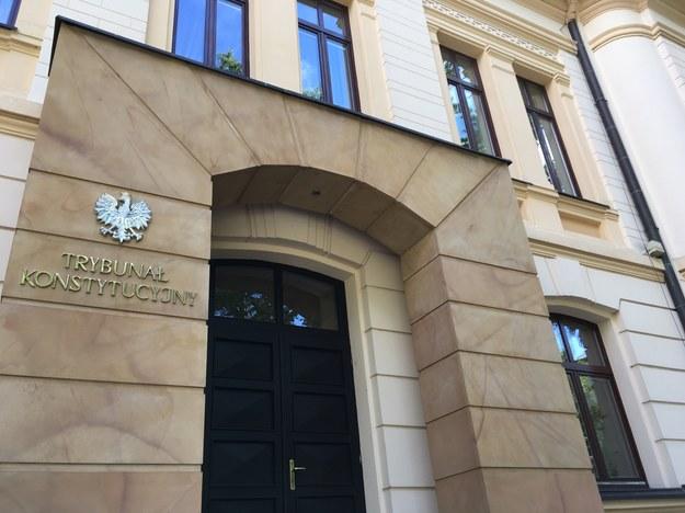 Siedziba Trybunału Konstytucyjnego /Michał Dukaczewski /Archiwum RMF FM