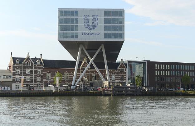Siedziba Unilever w Rotterdamie /AFP