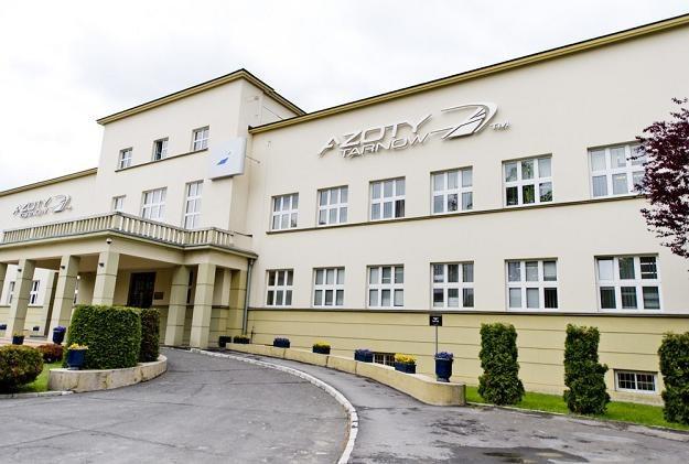 Siedziba Zakładów Azotowych w Tarnowie. Fot. Piotr Tracz /Reporter