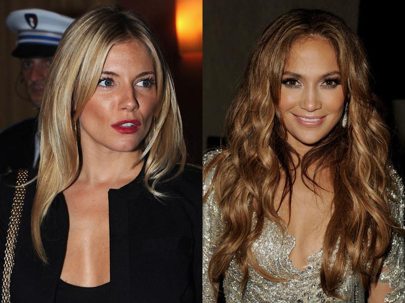 Sienna Miller i Jennifer Lopez  /Getty Images/Flash Press Media