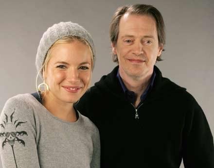 Sienna Miller i Steve Buscemi /AFP