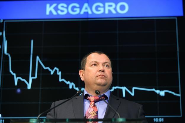 Siergiej Kasjanow, przewodniczący rady dyrektorów KSG Agro /PAP