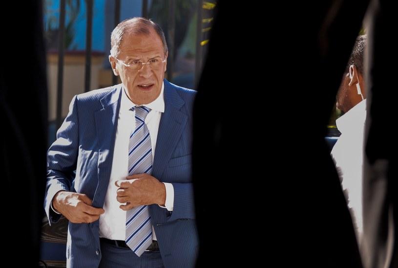 Siergiej Ławrow, minister spraw zagranicznych Federacji Rosyjskiej. /AFP