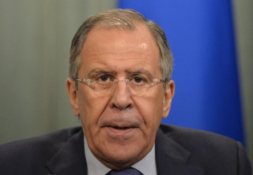 Siergiej Ławrow -  minister spraw zagranicznych Federacji Rosyjskiej /AFP