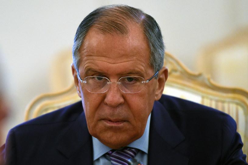 Siergiej Ławrow, szef MSZ Rosji /AFP