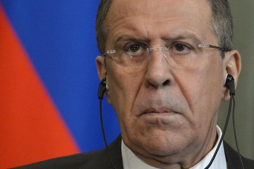 Siergiej Ławrow - szef rosyjskiej dyplomacji /AFP