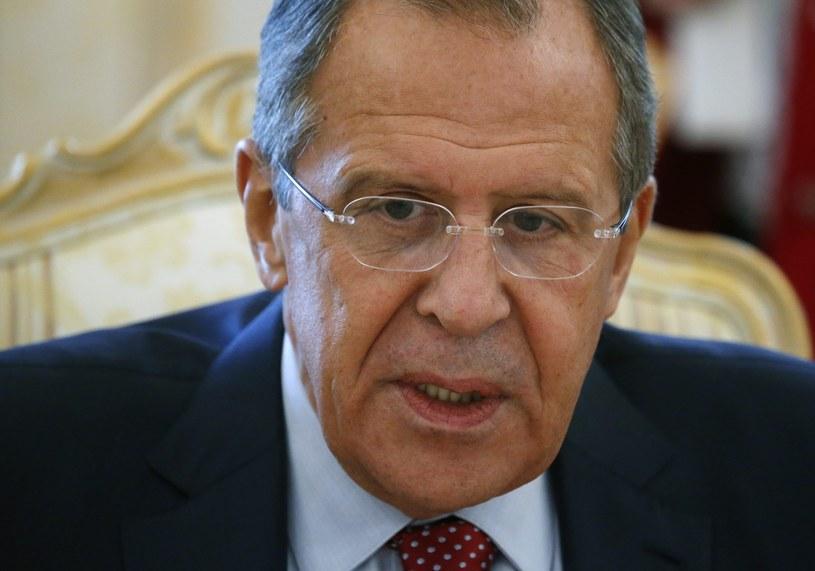 """Siergiej Ławrow: """"W dzisiejszych czasach zagrożenie to wymaga wyjątkowo pilnej reakcji"""" /AFP"""