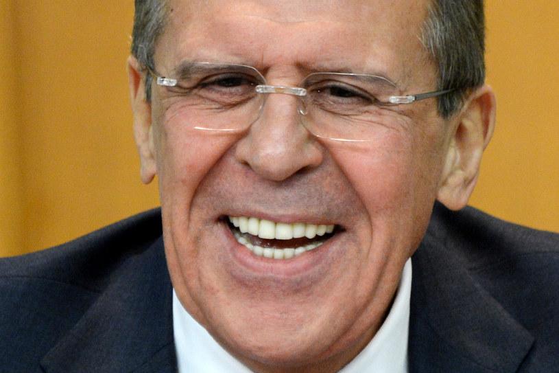 Siergiej Ławrow /AFP